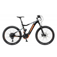 KTM Macina Lycan 274 black matt (grey+orange) 2019