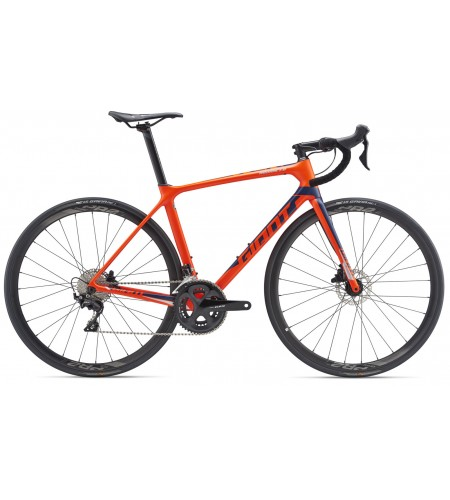 GIANT TCR Advanced 2 Disc-M19-neon red/navy blue/silver