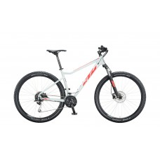 Bicykel KTM ULTRA FUN 29 lightgrey matt (red+black) 2020