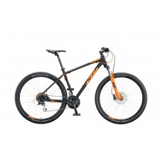 Bicykel KTM CHICAGO DISC 29 black matt (orange) 2020