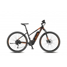 KTM MACINA CROSS 9 CX4 Black/Matt Orange 2018