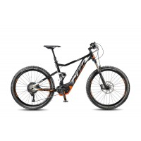 KTM MACINA LYCAN 274 Black Matt/White Orange
