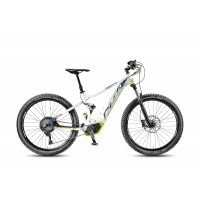 KTM MACINA LYCAN 274 White Matt/Stone/Grey/Green