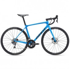 Cestný bicykel GIANT TCR Advanced 1 Disc-Pro Compact-M20-metallic blue/gunmetal black