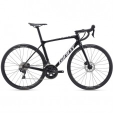 Cestný bicykel GIANT TCR Advanced 2 Disc-Pro Compact-M20-metallic black/white
